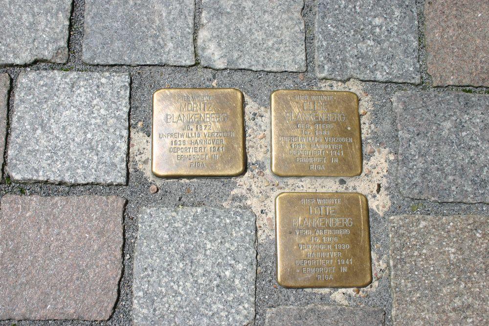 Stumbling Stones Backerstrasse 47