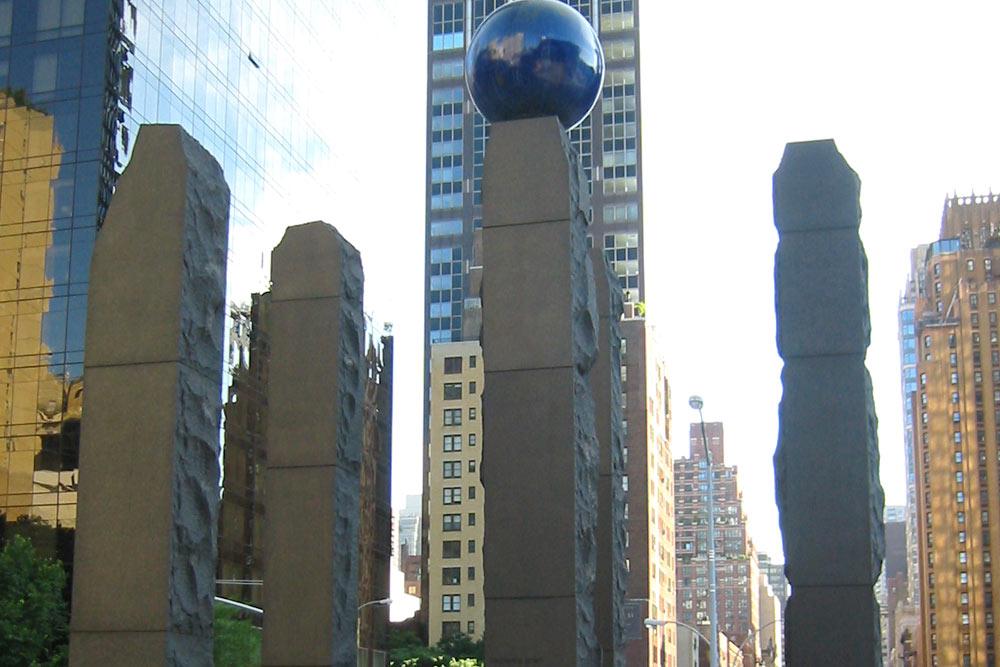 Monument Raoul Wallenberg New York City