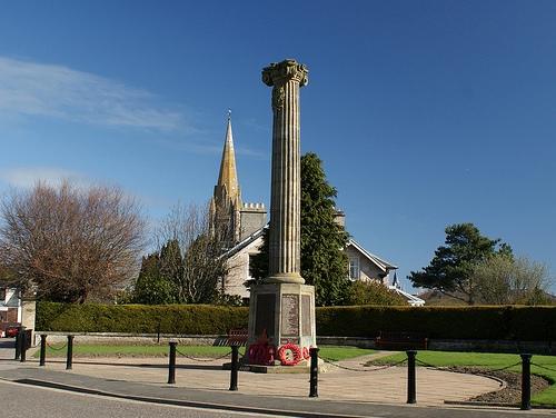 War Memorial Nairnshire County