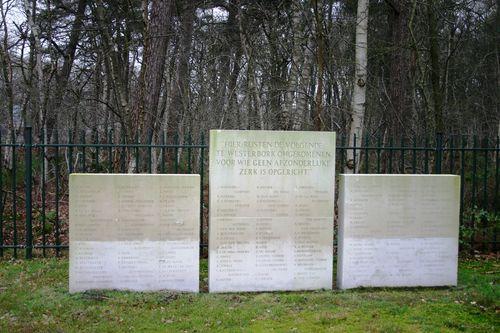 Gedenksteen Joodse Begraafplaats Twijfelveld