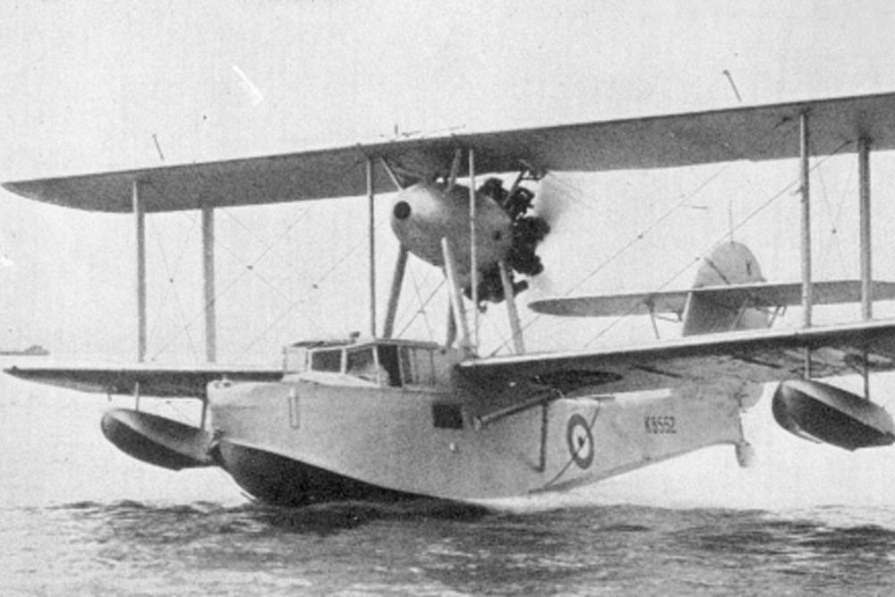 Wrakstuk Supermarine Walrus II # X9559