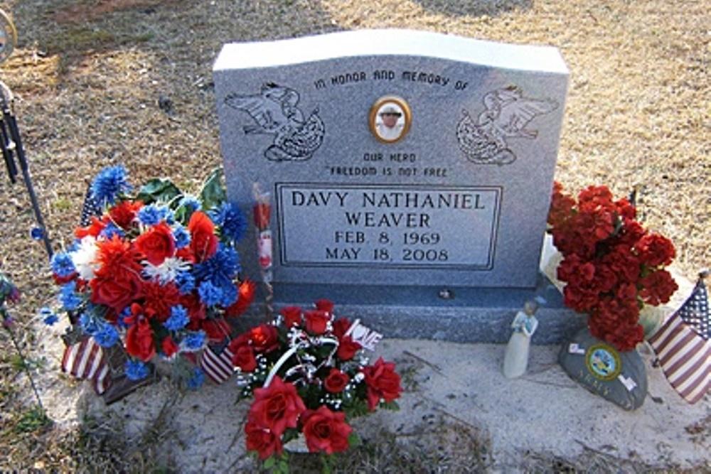 Amerikaans Oorlogsgraf Lilla Memorial Baptist Church Cemetery