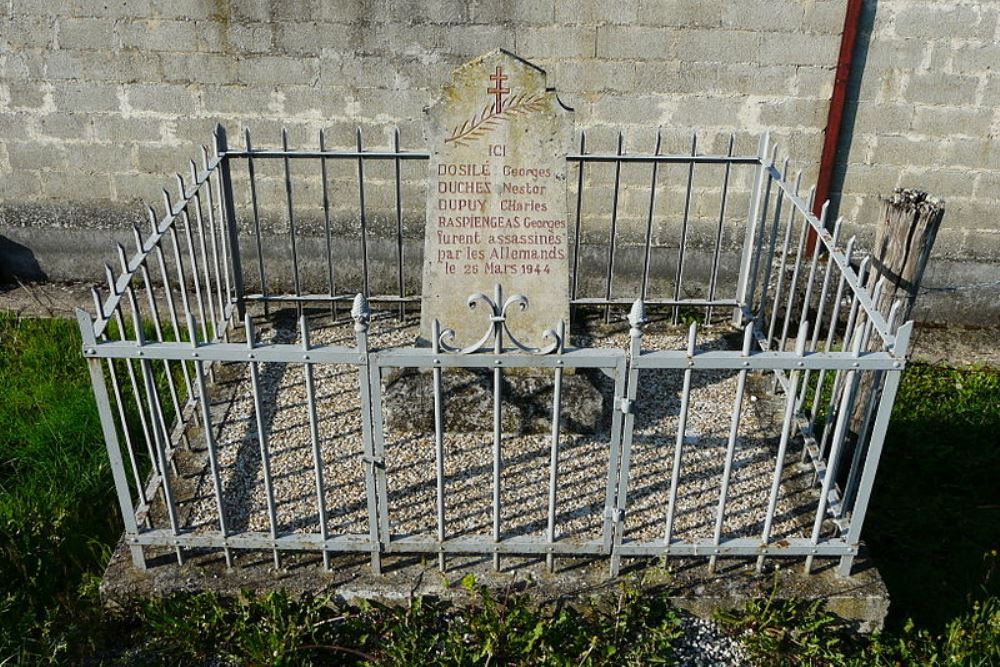 Memorial Execution 26 March 1944