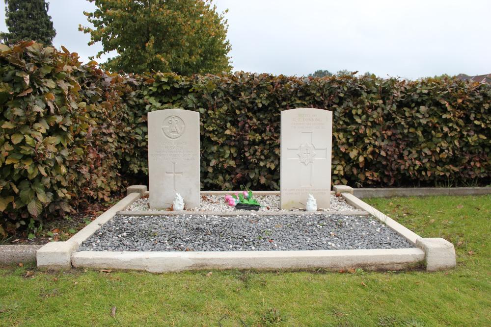 Oorlogsgraven van het Gemenebest Sint-Amandsberg