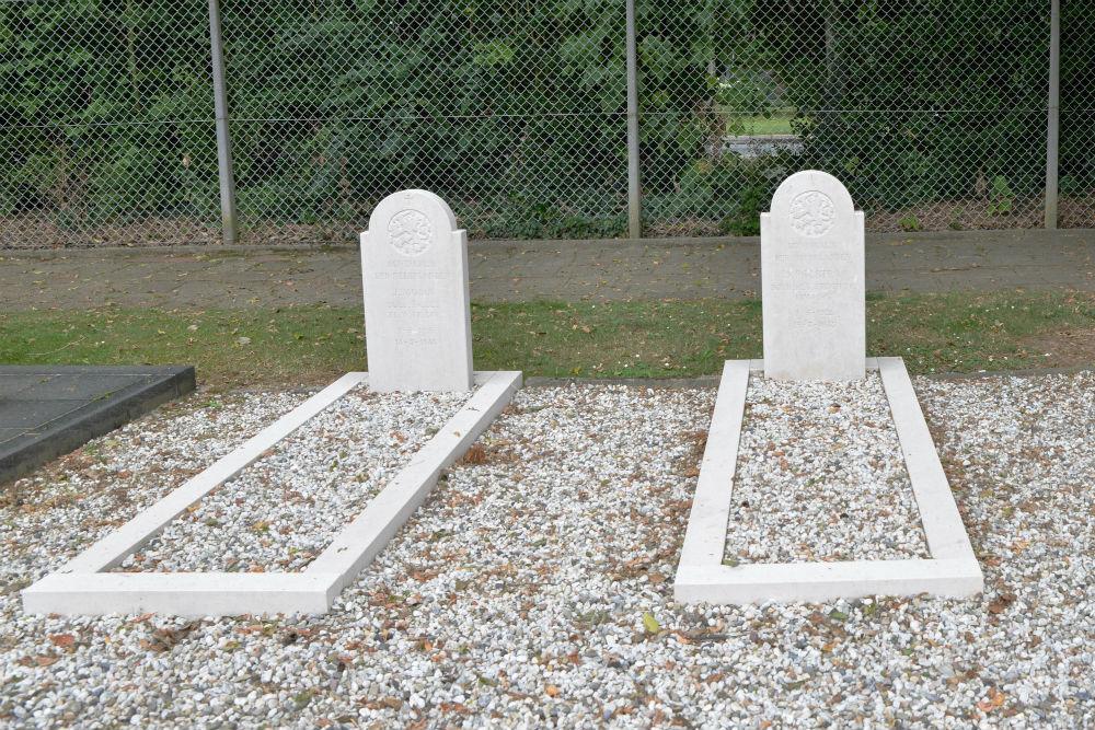 Nederlandse Oorlogsgraven Kerkhof H.H. Marcellinus en Petrus Oud-Geleen