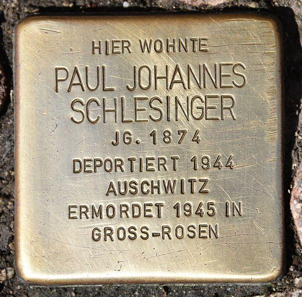 Stolperstein Herzog Leopold-Straße 28