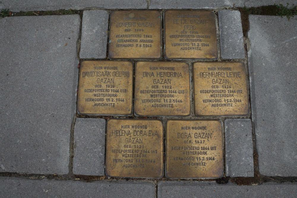 Stolpersteine Burgemeester van de Borchstraat 19