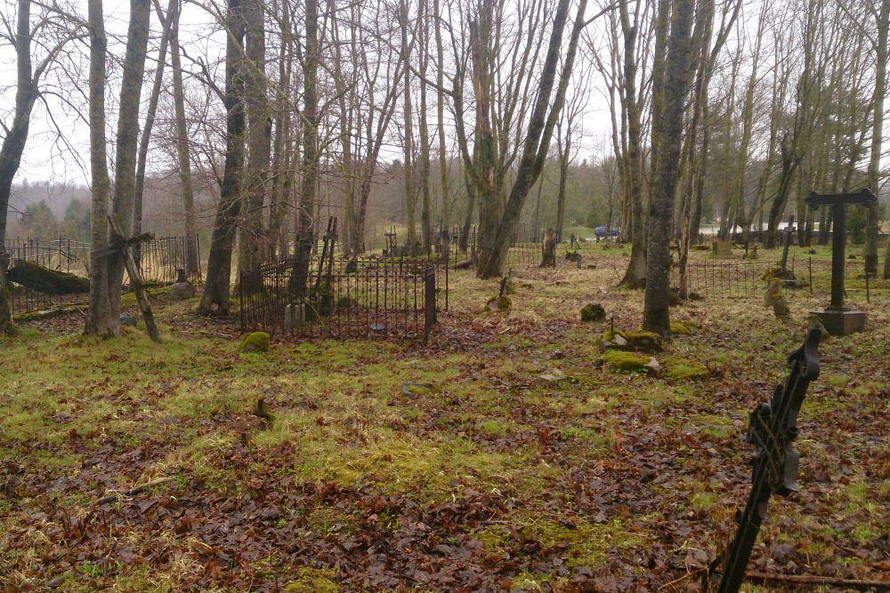 Loopgraven Oude begraafplaats Vaivara