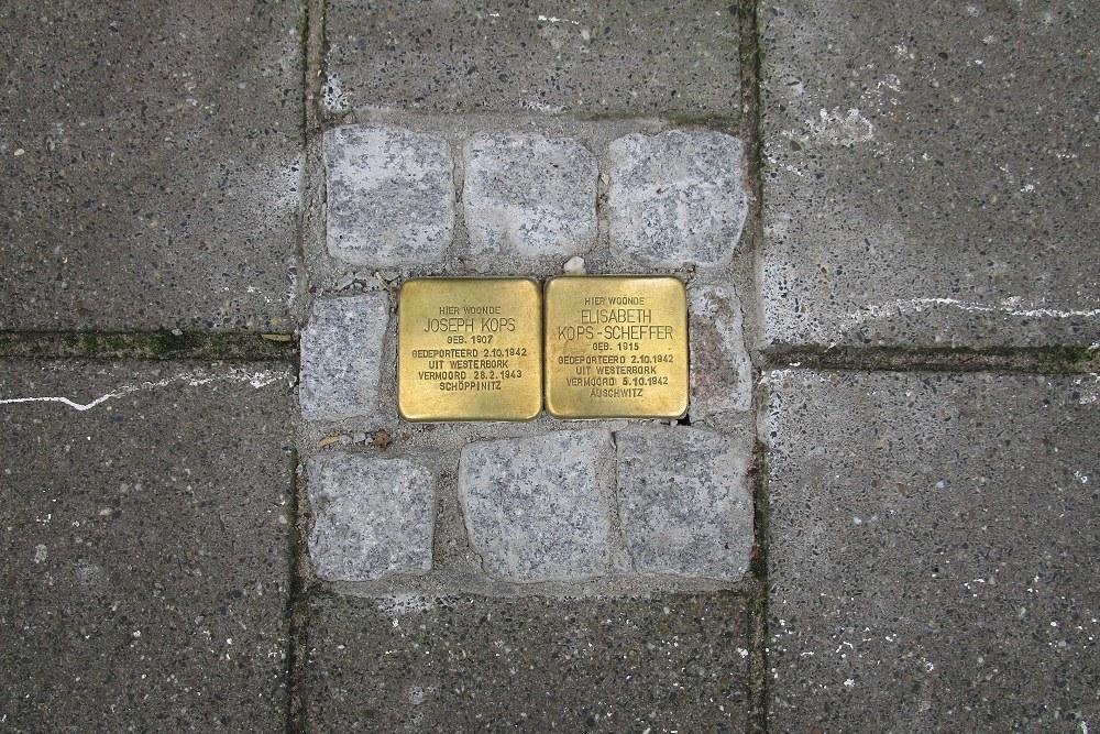 Herdenkingsstenen Vlamingstraat 22