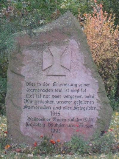 War Memorial Wuhden