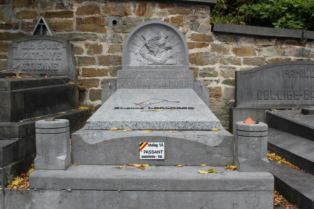 Veteran War Graves Old Cemetery Chaudfontaine