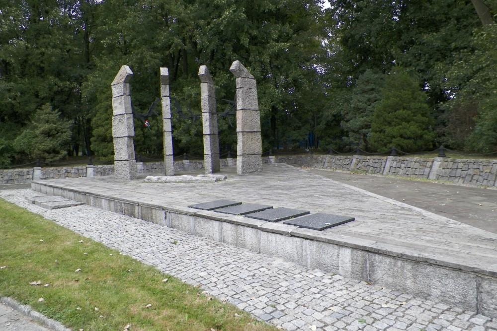 Monument Concentratiekamp Auschwitz III (Monowitz)