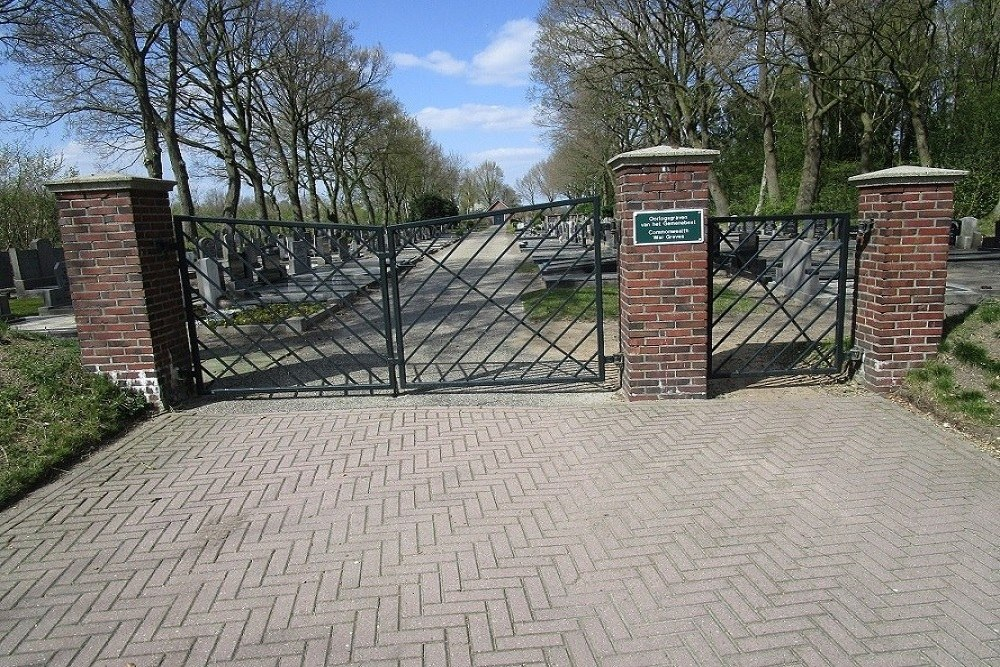 Commonwealth War Graves General Cemetery Geesbrug