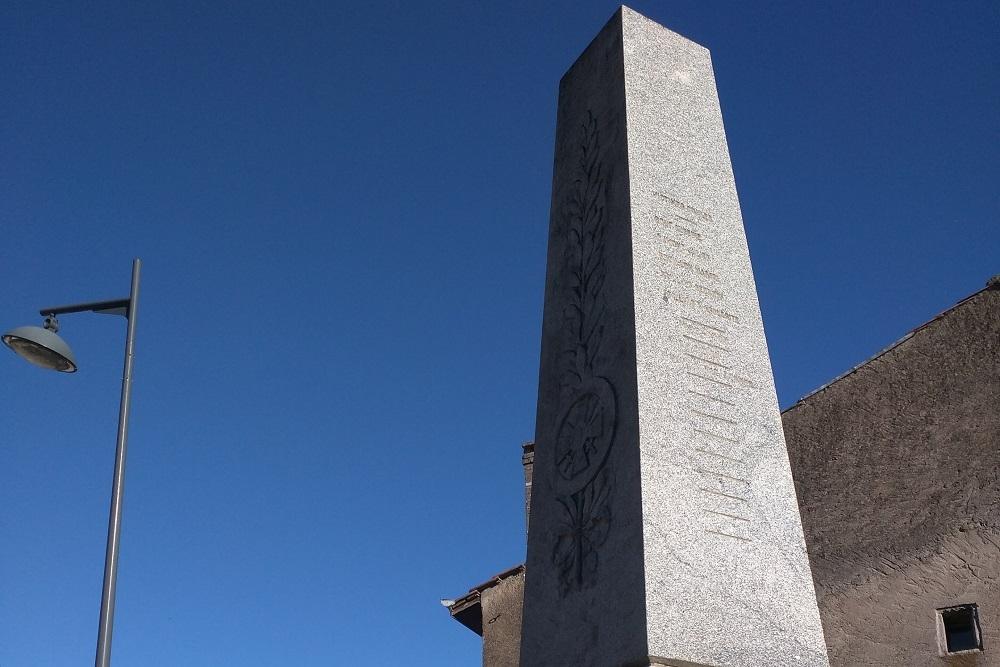 War Memorial Bayonville-sur-Mad