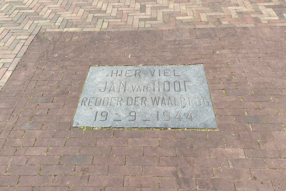 Remembrance Stone Jan van Hoof