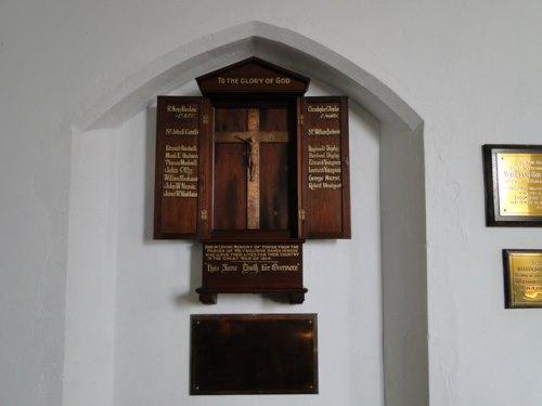 War Memorial All Saints Church Weybourne