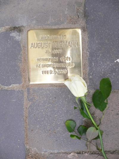 Stumbling Stone Sankt Jürgenplatz 8