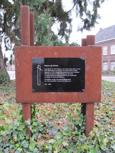 Monument 'Sporen die bleven' Wessem