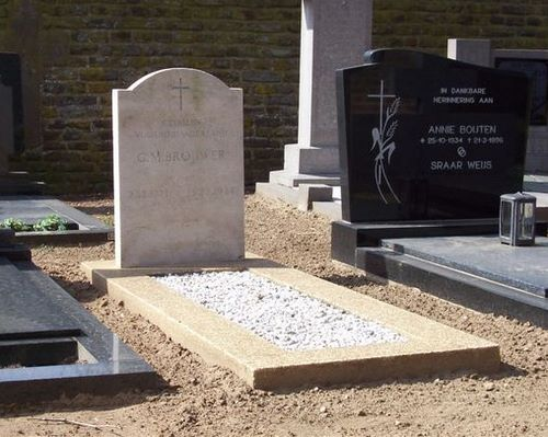 Nederlandse Oorlogsgraven R.K. Begraafplaats Broekhuizenvorst