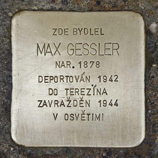 Stumbling Stones Masarykovo náměstí 8