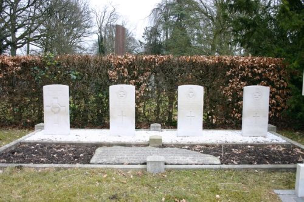 Commonwealth War Graves General Cemetery Haren