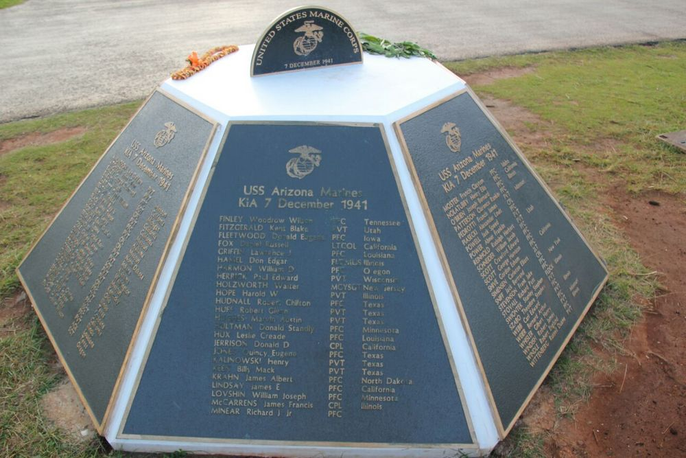 Memorial Marine Corps Pearl Harbor