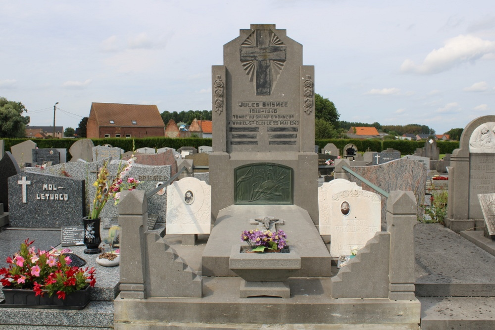 Belgian War Grave Willaupuis