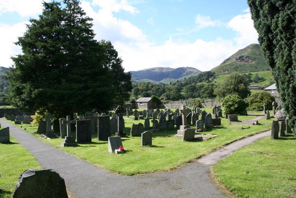 Commonwealth War Grave Grasmere Cemetery
