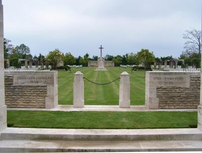 Oorlogsbegraafplaats van het Gemenebest Tilly-sur-Seulles