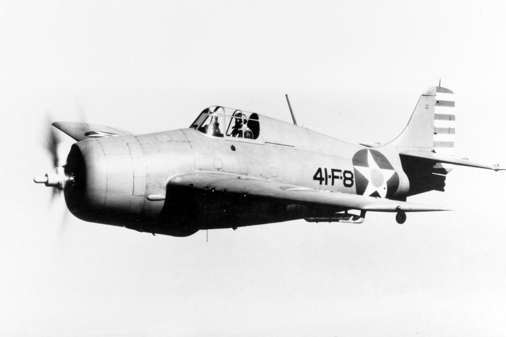 Crash Site F4F-4 Wildcat