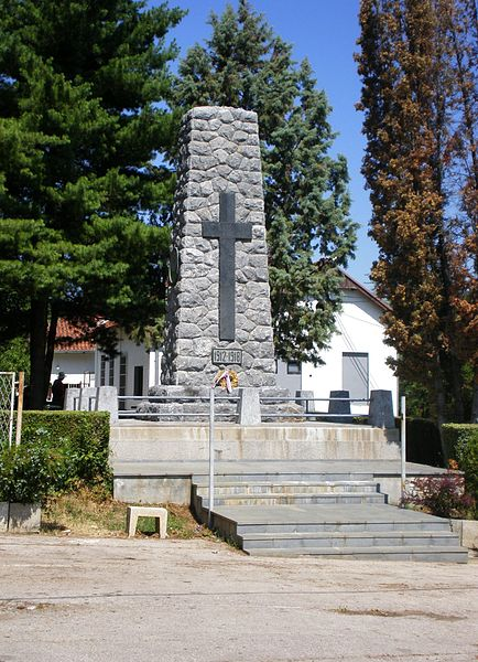 Monument Omgekomen Soldaten Čačak