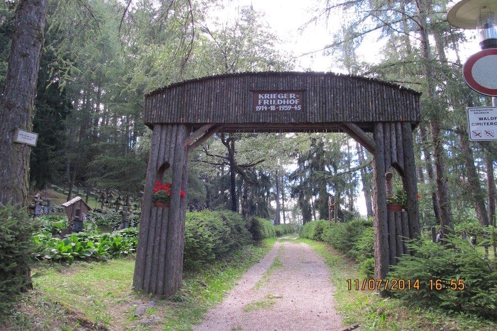 Oostenrijks-Hongaarse Oorlogsbegraafplaats Bruneck/Brunico