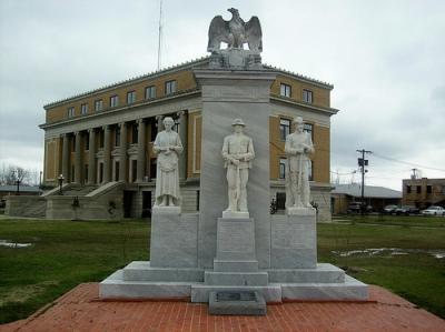Monument Veteranen Belzoni