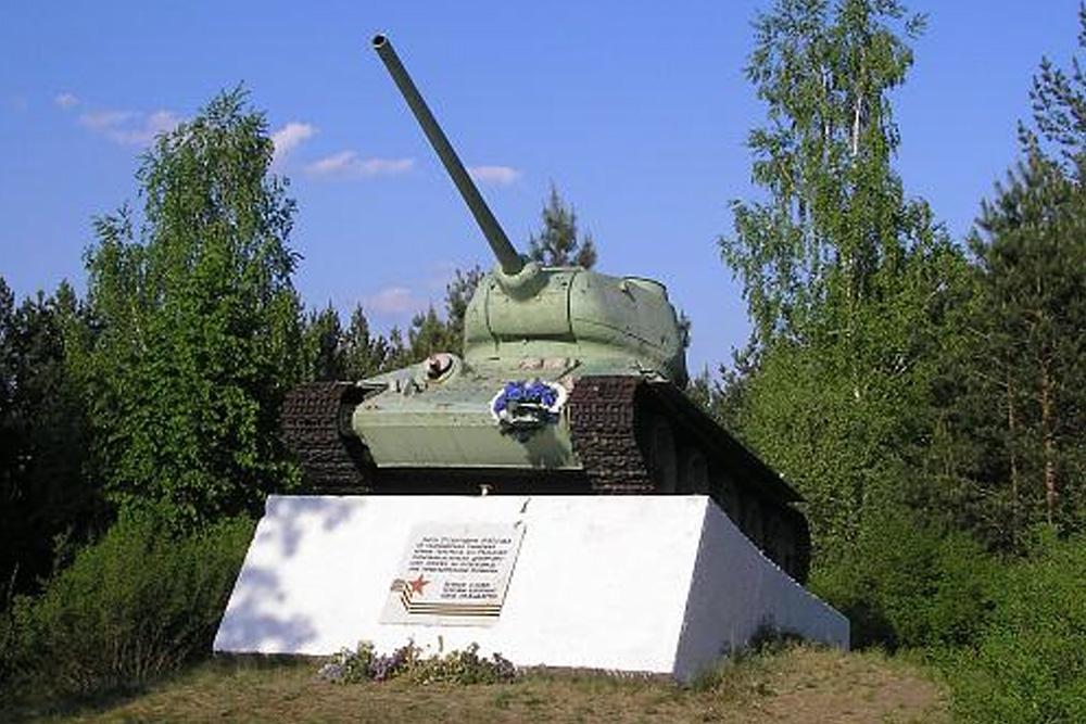 Monument Tankisten Bukryn Bruggenhoofd (IS-2 Tank)