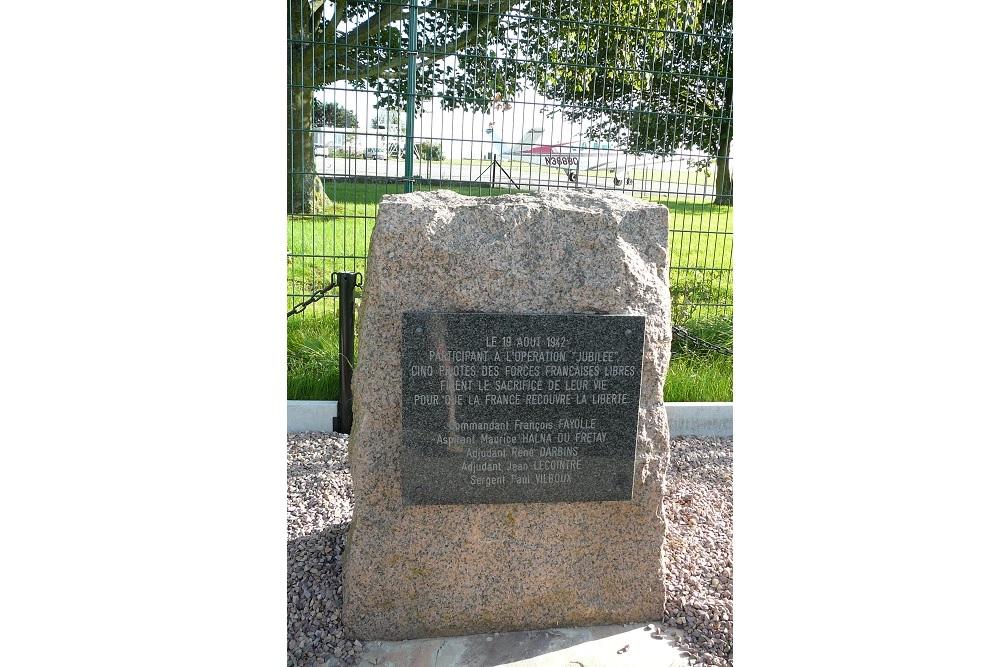 Memorial Operation Jubilee Dieppe Airfield
