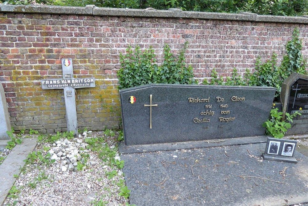 Belgian War Graves Bazel