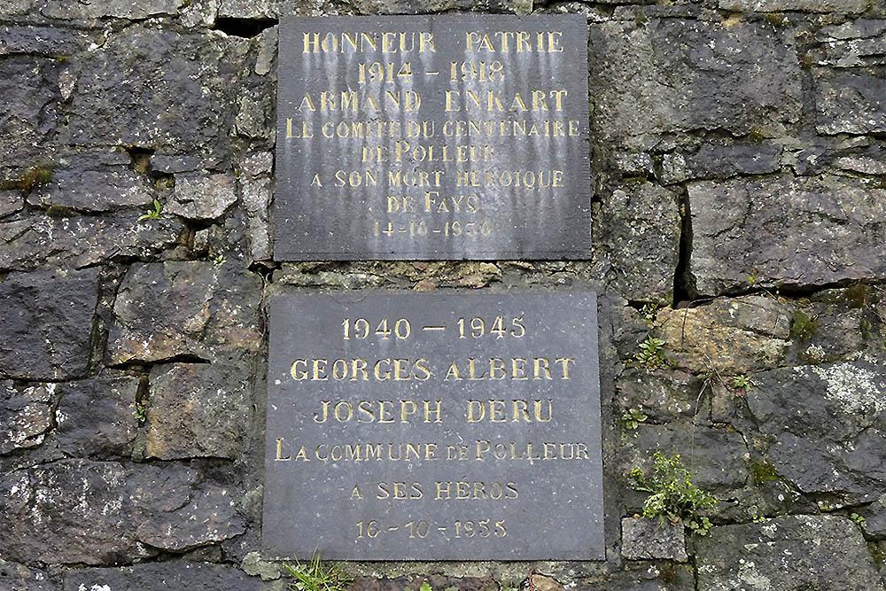 Plaques War Victims Fays