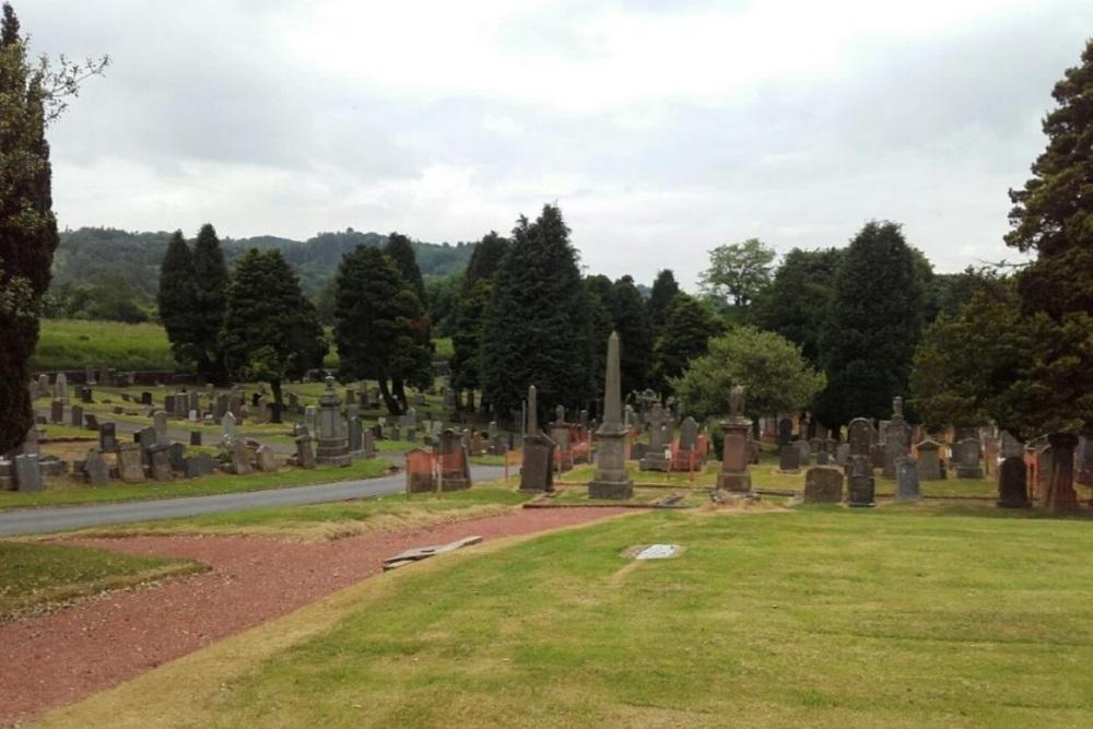 Commonwealth War Graves Kilsyth Cemetery