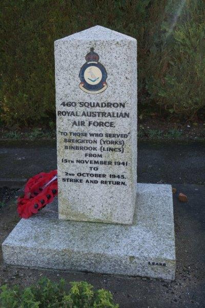 Monument 460 Squadron RAAF