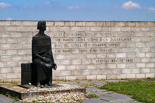 Duitse DDR Mauthausen Monument
