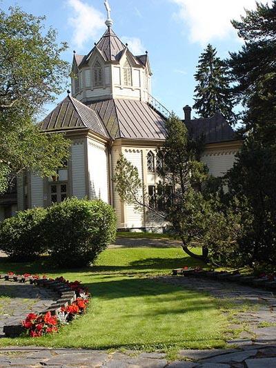 Finse Oorlogsgraven Ruotsinpyhtaa
