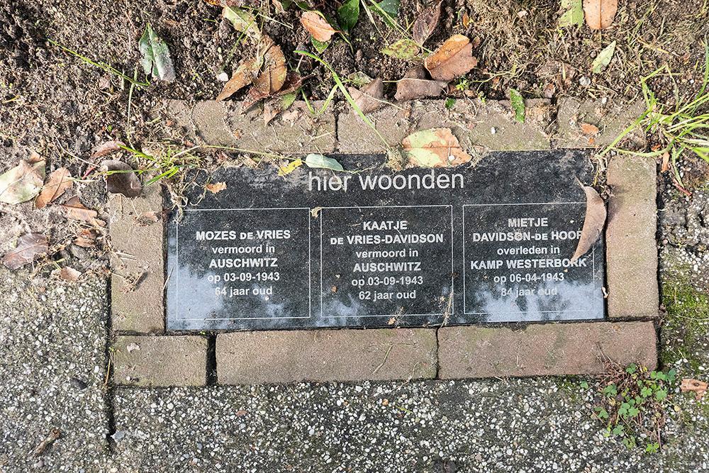 Memorial Stones Borgesiuslaan 15