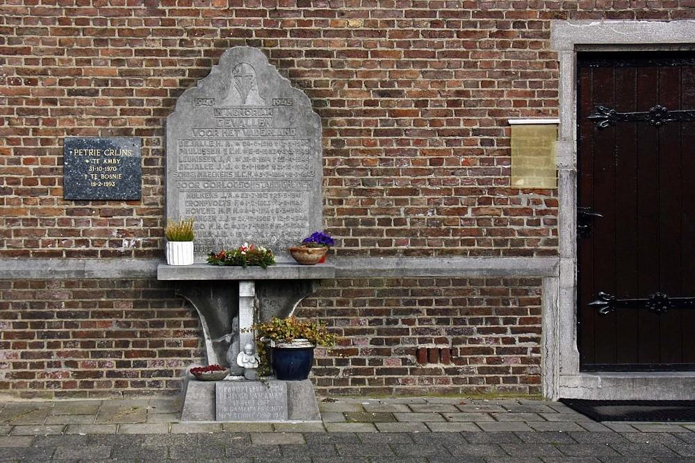 Nederlands Oorlogsgraf Rooms Katholieke Begraafplaats Sint Walburga Amby