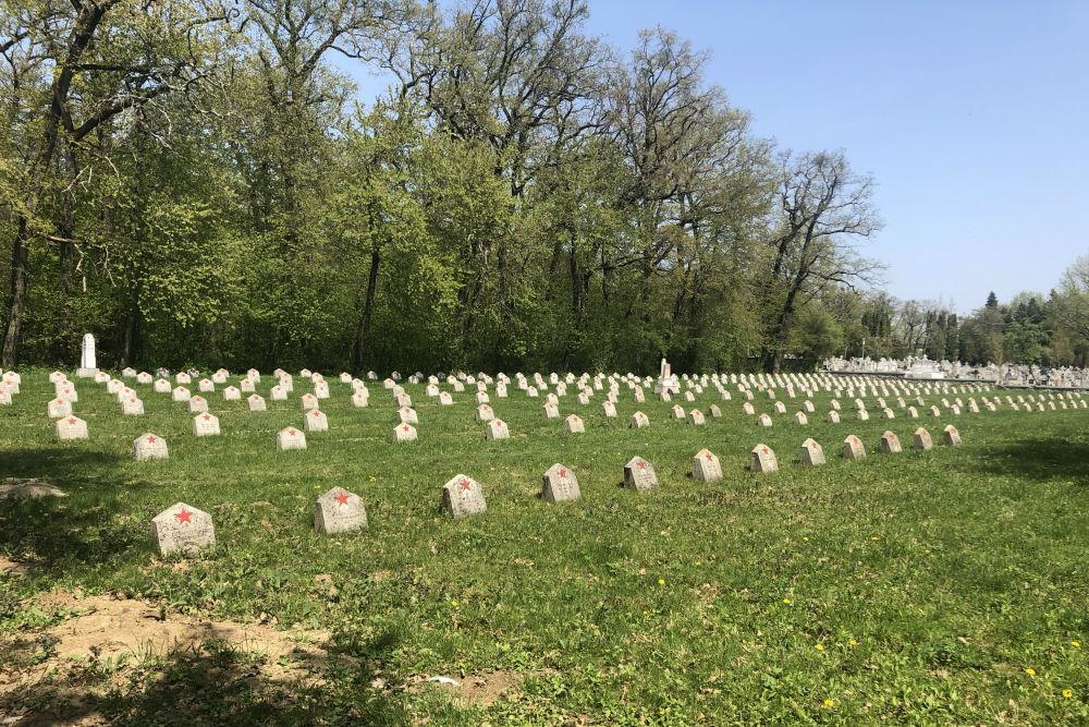 Soviet War Cemetery Sibiu