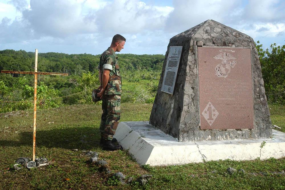 Bloody Nose Ridge Marine Memorial
