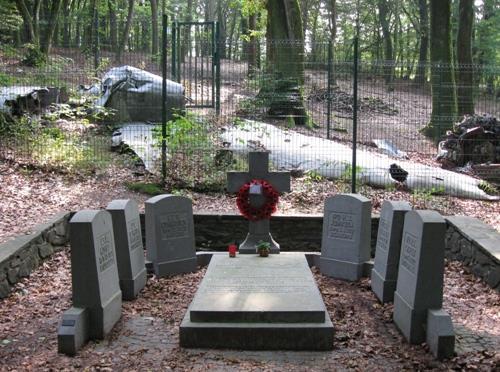 Monument en Oorlogsgraven Hudson Transportvliegtuig