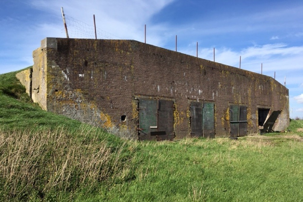 Gunpowder Warehouse Fort aan den Ham