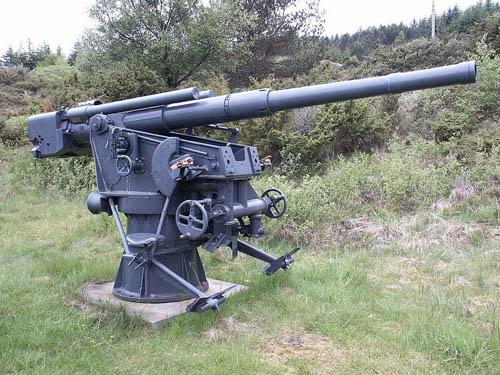 88mm SK C/30 Flak-geschut Fjell Festning