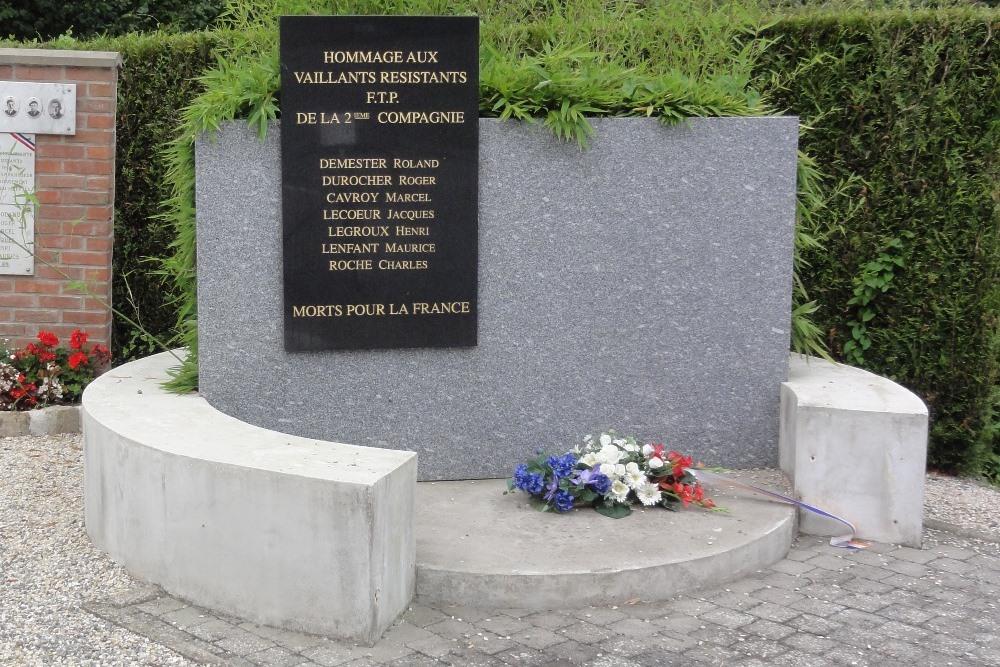 Memorial Fight 14 June 1944