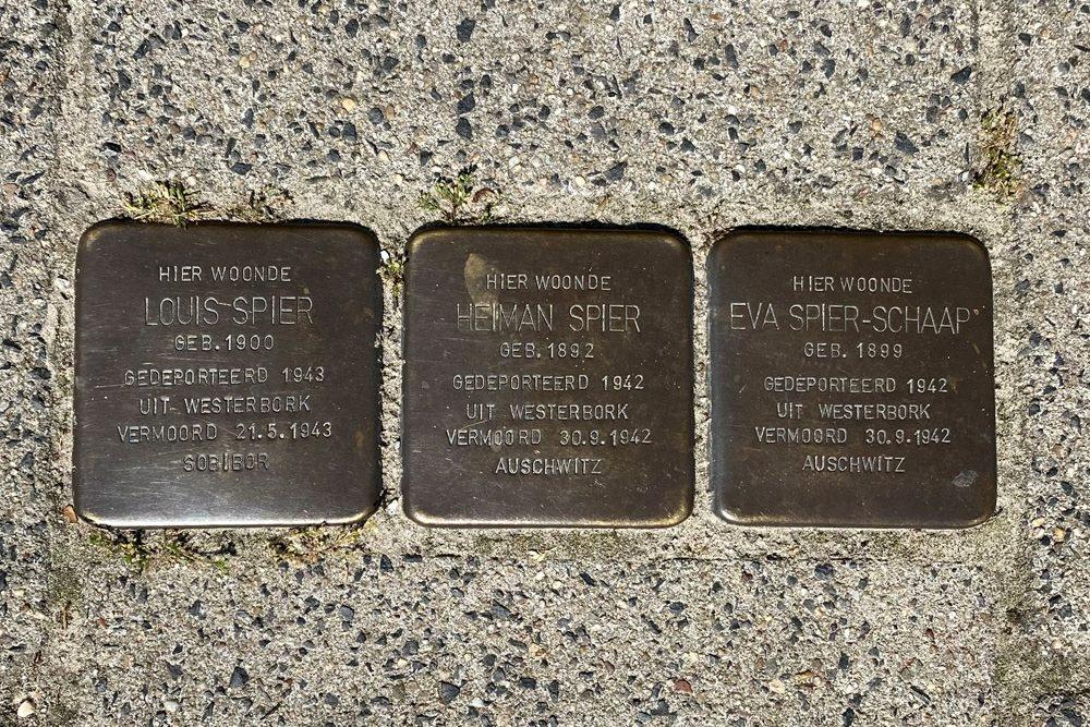 Stolpersteine Badhuisweg 26